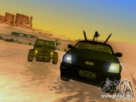 Suv Call Of Duty Modern Warfare 3 para las ruedas de GTA San Andreas