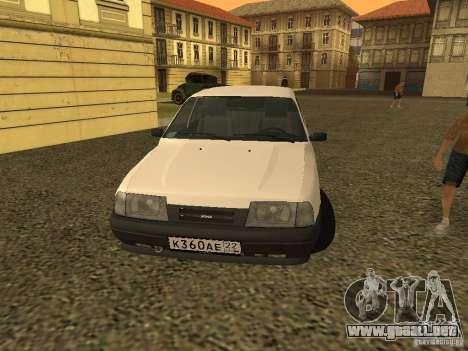 IZH 2126 para la visión correcta GTA San Andreas