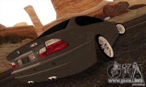 BMW M3 para GTA San Andreas left