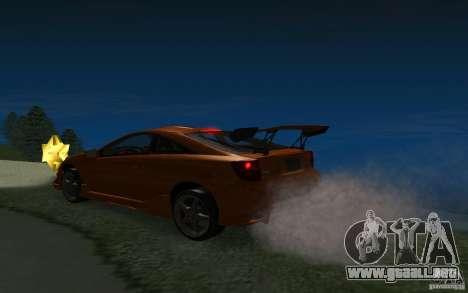 Toyota Celica para las ruedas de GTA San Andreas