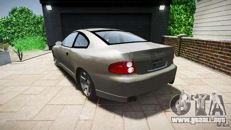 Pontiac GTO 2004 para GTA 4 Vista posterior izquierda