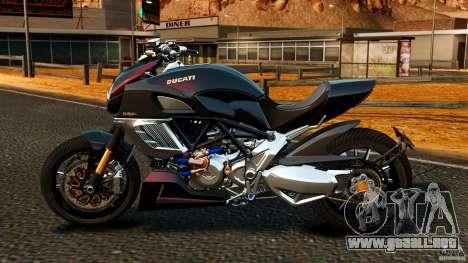 Ducati Diavel Carbon 2011 para GTA 4 left