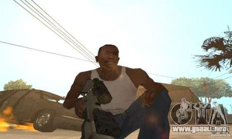 Intervenšn de Call Of Duty Modern Warfare 2 para GTA San Andreas segunda pantalla