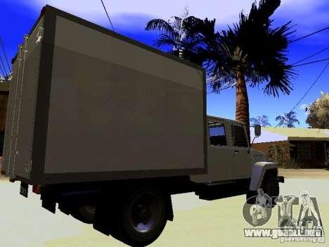 GAZ 3309 Huntsman para GTA San Andreas left