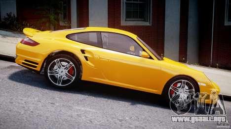 Porsche 911 Turbo V3.5 para GTA 4 vista hacia atrás