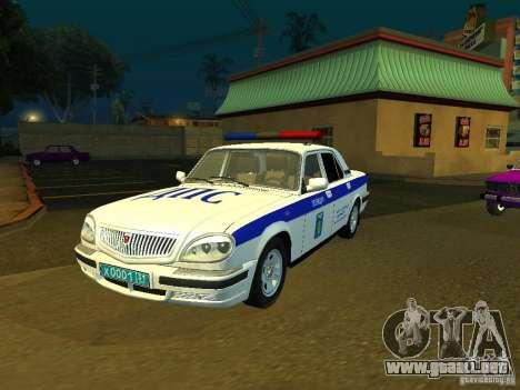 GAZ 31105 policía para GTA San Andreas