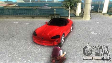 Dodge Viper SRT 10 Coupe para GTA Vice City