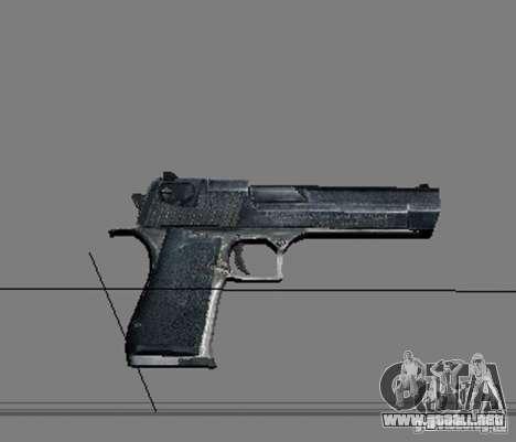 Un conjunto de armas de acosador V2 para GTA San Andreas novena de pantalla