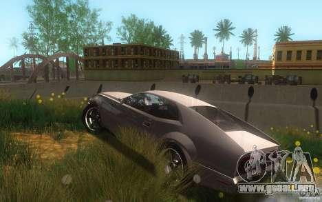 AMC Javelin 2010 para la vista superior GTA San Andreas