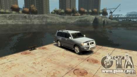 TOYOTA LAND CRUISER 100 para GTA 4 visión correcta