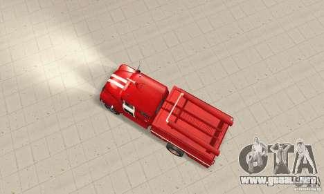 ZIL-130 incendios para la visión correcta GTA San Andreas