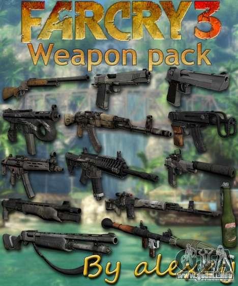 El conjunto de Far Cry 3 para GTA San Andreas