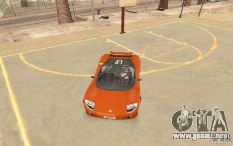 Veloche coche para GTA San Andreas left