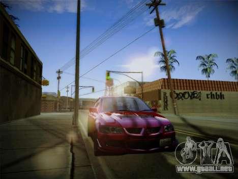 ENBSeries by Treavor para GTA San Andreas sucesivamente de pantalla
