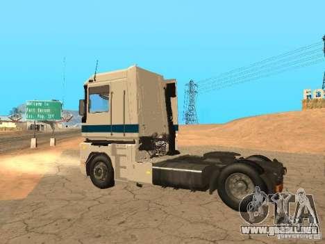 Renault Magnum Sommer Container para visión interna GTA San Andreas