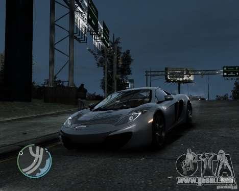 McLaren MP4-12C [EPM] 2011 para GTA 4