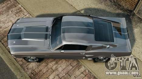 Shelby Mustang GT500 Eleanor 1967 v1.0 [EPM] para GTA 4 visión correcta