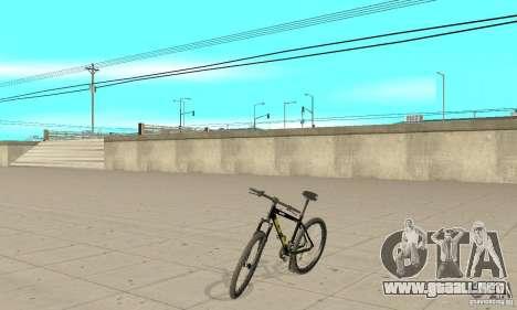 GT Dirtbike v.2 para GTA San Andreas vista posterior izquierda