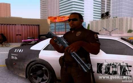 Un oficial de policía de bacalao: BO2 para GTA San Andreas quinta pantalla