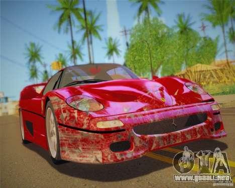 GTA IV Scratches Style para GTA San Andreas séptima pantalla