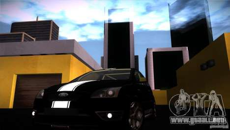 Ford Focus 2 Coupe para la visión correcta GTA San Andreas