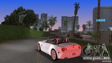 BMW Z4 2004 para GTA Vice City vista lateral izquierdo