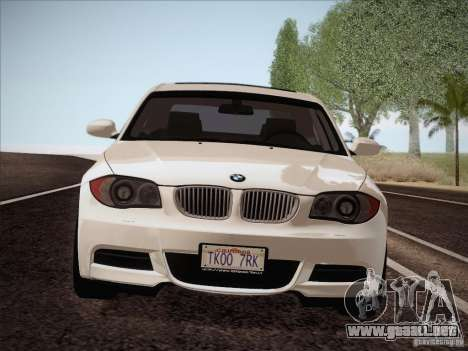 BMW 135i para visión interna GTA San Andreas