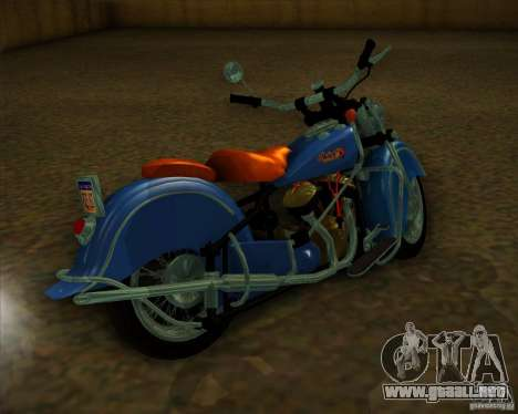 Indian Chief 1948 para la visión correcta GTA San Andreas