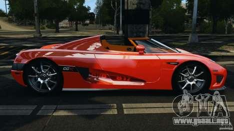 Koenigsegg CCX 2006 v1.0 [EPM][RIV] para GTA 4 left