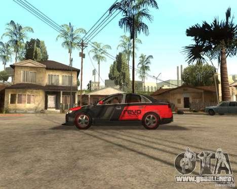Audi RS4 Grip para GTA San Andreas left