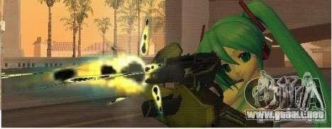 Half-Life weapon pack para GTA San Andreas sucesivamente de pantalla