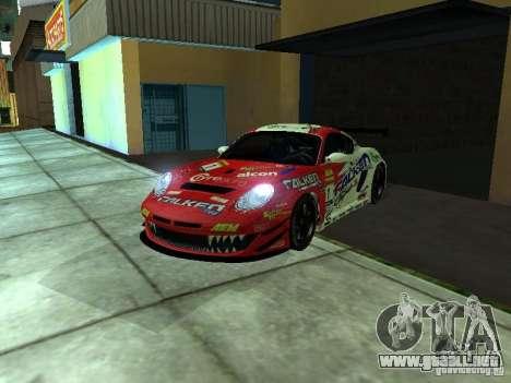 Porsche Cayman S NFS Shift para la visión correcta GTA San Andreas