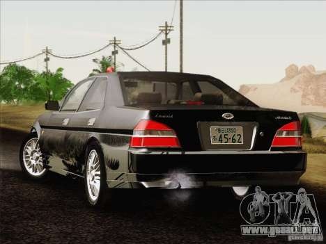 Nissan Laurel GC35 Kouki Unmarked Police Car para GTA San Andreas left