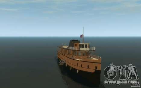Staten Island Ferry para GTA 4 vista hacia atrás