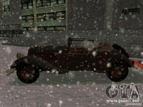 Auto sabotaje juego para GTA San Andreas left