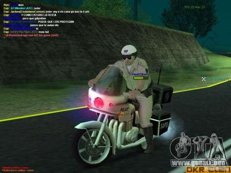 HQ texture for MP para GTA San Andreas sexta pantalla