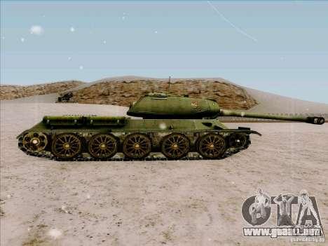 T-34 para GTA San Andreas left
