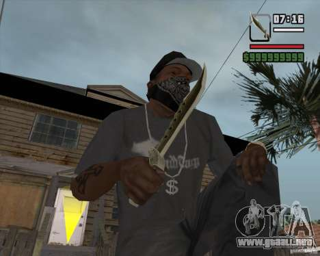 Steep Knife para GTA San Andreas