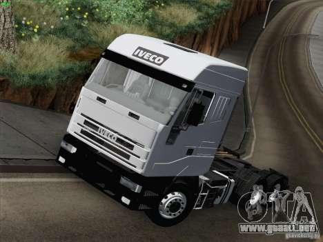 Iveco Eurostar para GTA San Andreas interior
