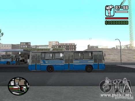Ikarus 260 seguridad para GTA San Andreas left