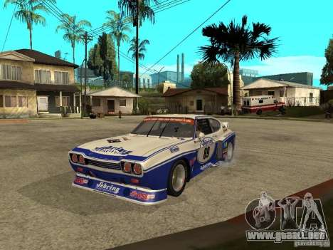Ford Capri RS Cosworth 1974 para GTA San Andreas