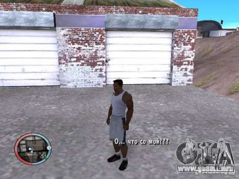 DRUNK MOD V2 para GTA San Andreas segunda pantalla