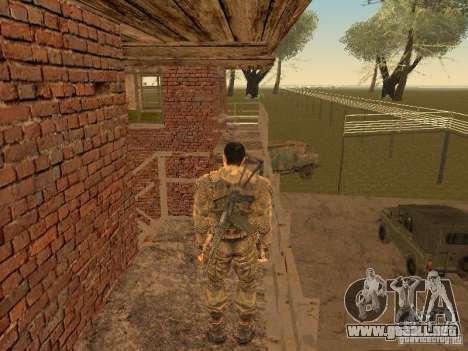 DEGTYAREV de Stalker para GTA San Andreas sucesivamente de pantalla