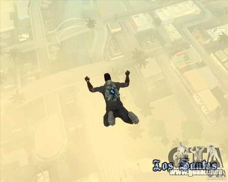 Paracaídas Rockstar (camuflaje) para GTA San Andreas
