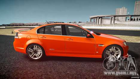 Holden Commodore SS (FBINOoSE) para GTA 4 left