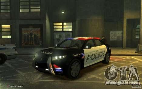 Carbon Motors E7 para GTA 4