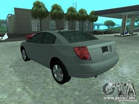 Saturn Ion Quad Coupe 2004 para GTA San Andreas left