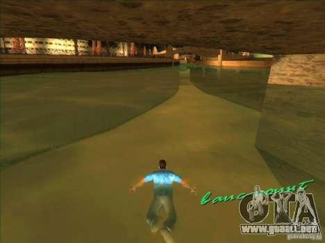 Nadar con la nueva animación para GTA Vice City