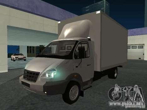 33102 Valday GAZ (largo) para GTA San Andreas