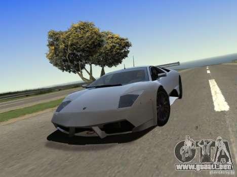 IG ENBSeries v2.0 para GTA San Andreas sucesivamente de pantalla